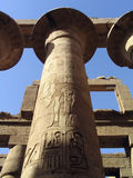 Ruins of Karnak Temple, Luxor, Egypt Royalty Free Stock Images