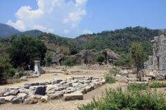 Ruins of Kaunos 2 Royalty Free Stock Images