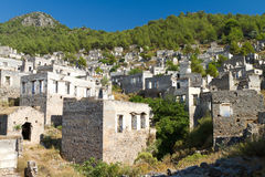 Ruins of Kayakoy, Fethiye Stock Photography