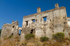 Ruins of Kayakoy, Fethiye Stock Photo