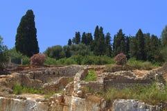 Ruins at Kefalonia,Greece Stock Images