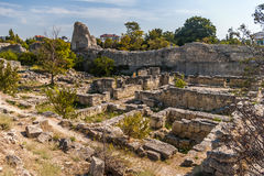 Ruins in Khersones Royalty Free Stock Photos