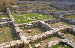 Ruins of Khersonesa Royalty Free Stock Photos
