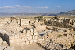 Ruins Khor Rouri in Oman Stock Photography