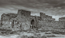 Ruins of Kirkuk castle Royalty Free Stock Images