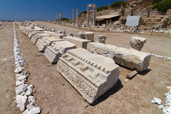 Ruins of Knidos Stock Photo