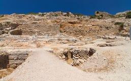 Ruins of Knidos Stock Photography