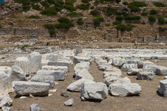 Ruins of Knidos Royalty Free Stock Photo