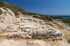 Ruins of Knidos Royalty Free Stock Image