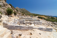 Ruins of Knidos Stock Photos