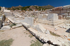 Ruins of Knidos Stock Photography