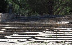Ruins At Knossos Crete Greece Stock Photos