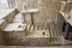 Ruins of the Knossos palace Royalty Free Stock Images