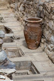 The ruins of Knossos Palace (Palace of the Minotaur) on Crete. Stock Photo
