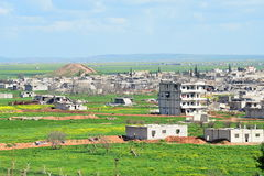 Ruins of Kobane Stock Photos