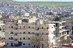 Ruins of Kobane Stock Photo