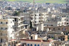 Ruins of Kobane Stock Image