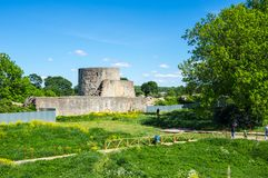 Ruins of Koporye fortress Royalty Free Stock Photography