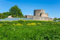 Ruins of Koporye fortress Stock Photos