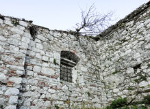 Ruins in Kotor. Building in Montenegro Stock Photography