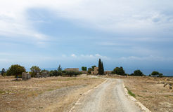 Ruins of Kourion Stock Photos