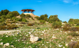 Ruins of Kourion, an ancient city in Cyprus Royalty Free Stock Photos