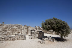 Ruins at Kourion, Cyprus Stock Photography
