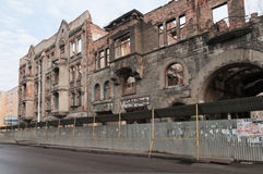 Ruins of Kreuz Apotheke Royalty Free Stock Photos