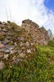 Ruins  in the   Krevo, Belarus. Royalty Free Stock Image