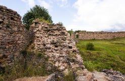 Ruins  in the   Krevo, Belarus. Stock Photos