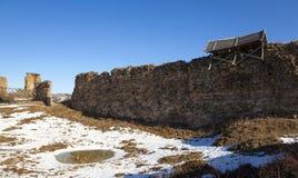 Ruins. Krevo Belarus Royalty Free Stock Images