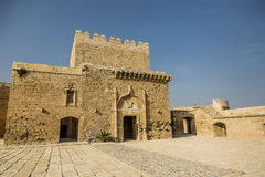 Ruins of La Alcazaba. There are ruins of the Alcazaba de Almeria Royalty Free Stock Images