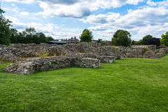 Ruins of Lady Chapel and Crypt at St Augustine's Abbey in Canter Royalty Free Stock Images