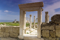 The Ruins of Laodicea a city of the Roman Empire in modern-day , Turkey,Pamukkale. Royalty Free Stock Photography