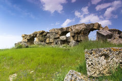 The Ruins of Laodicea a city of the Roman Empire in modern-day , Turkey,Pamukkale. Stock Images