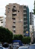 Ruins from Lebanese Civil War Royalty Free Stock Photo