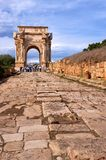 Ruins of Leptis Magna Stock Image