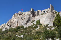 Ruins of Les Baux Royalty Free Stock Photo