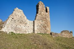 Ruins of Lichnice Castle Royalty Free Stock Photo