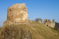 Ruins of Lichnice Castle Stock Photography