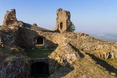Ruins of Lichnice Castle, Czech Republic Stock Photos