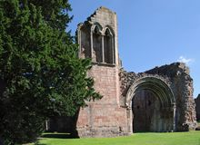 Ruins of Lilleshall abbey UK Royalty Free Stock Photos