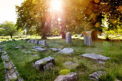Ruins of Limenas agora Royalty Free Stock Image