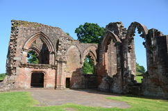 Ruins of Lincluden Collegiate Church. A view of the ruins of the ancient collegiate church near Dumfries Stock Photography