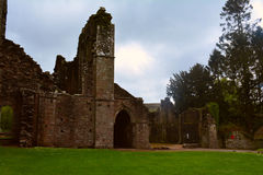 Ruins of Llanthony priory, Wales, U Royalty Free Stock Photography