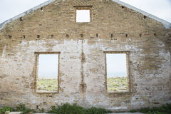 Ruins Llobregat Delta Royalty Free Stock Photography