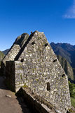 Ruins of the lost Inca city Machu Picchu in Peru - South America. Ruins of the lost Inca city Machu Picchu in the Andes in Peru - South America Royalty Free Stock Image