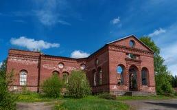 Ruins of the Lutheran Church of St. Yakkim in Lahdenpohja. Republic of Karelia, Russia. Royalty Free Stock Photography