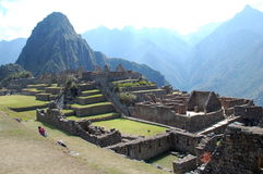 Ruins of machu-picchu 16 Stock Photography