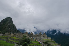 Ruins of Machu Picchu Royalty Free Stock Photography